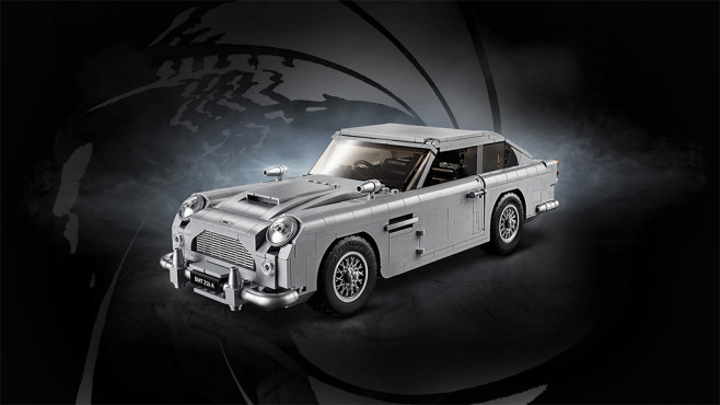 Lego Creator Expert Set James Bond Aston Martin DB5 © Lego