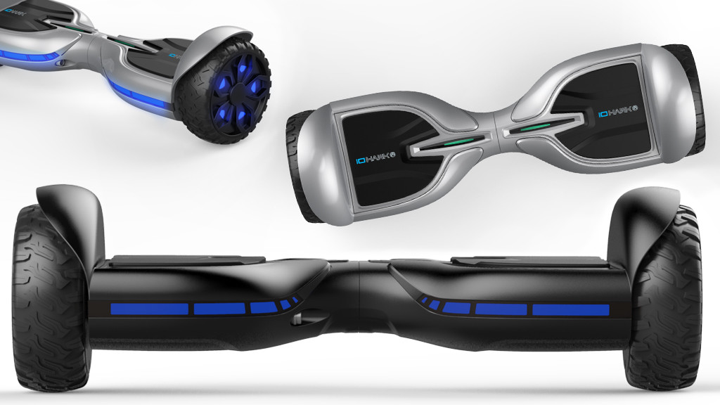 io hawk two rugged led hoverboard im test computer bild. Black Bedroom Furniture Sets. Home Design Ideas
