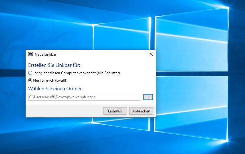Screenshot 1 - Linkbar