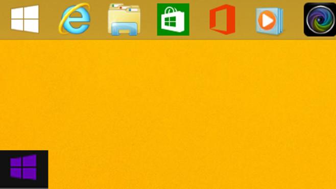 Windows 8.1: Windows mit zwei Startbuttons©COMPUTER BILD