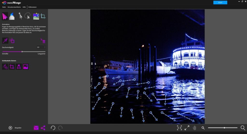 Screenshot 1 - Corel PhotoMirage