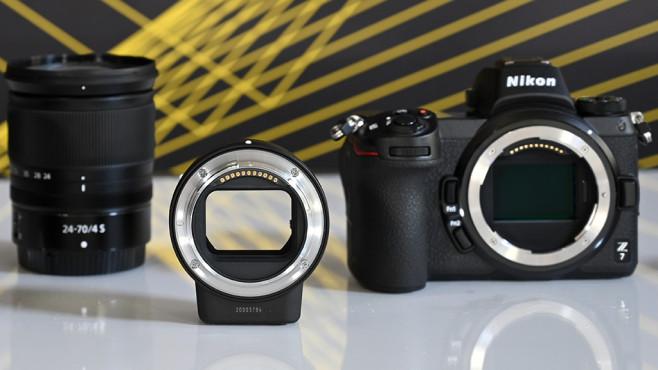 Nikon Z7 mit Objektivadapter FTZ©COMPUTER BILD