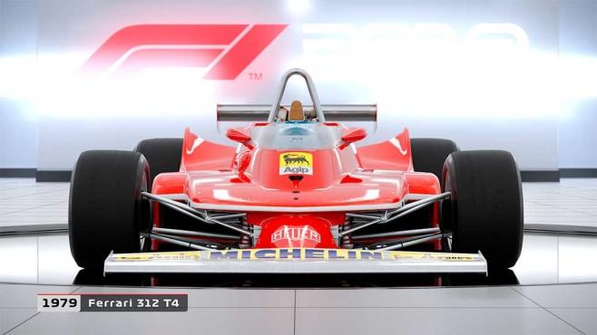 F1 2018: Ferrari F312T4 von 1979©Koch Media