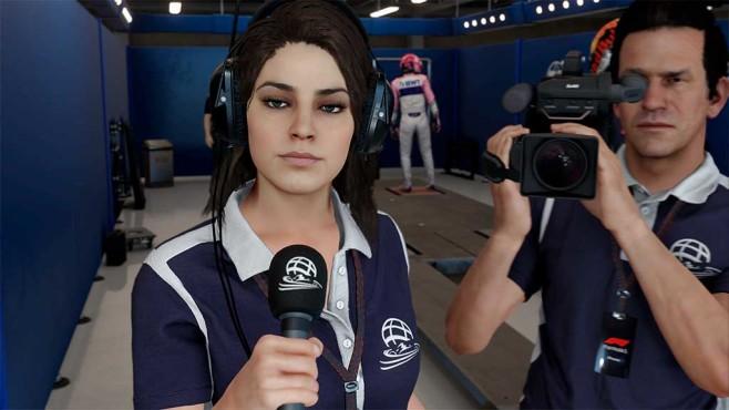 F1 2018: Pressearbeit ist wichtig©Codemasters