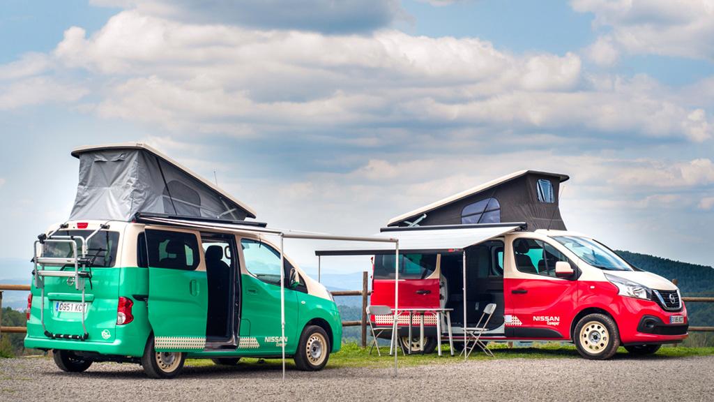Nissan e-NV200 Camper: Erstes elektrisches Wohnmobil vorgestellt