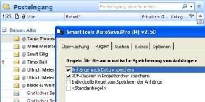SmartTools AutoSave für Outlook