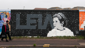 Prinzessin Leia Street Art © John Keeble/gettyimages