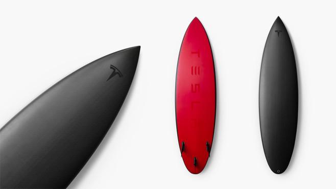 Tesla Surfbrett©Tesla