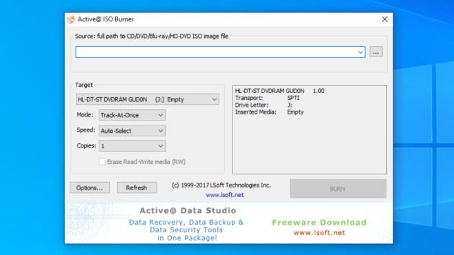 Windows 7/8/10: ISO-Dateien brennen mit Bordmitteln, Tools und CMD Tools wie Active ISO Burner ersetzen funktional den Windows-eigenen Brenner.©COMPUTER BILD