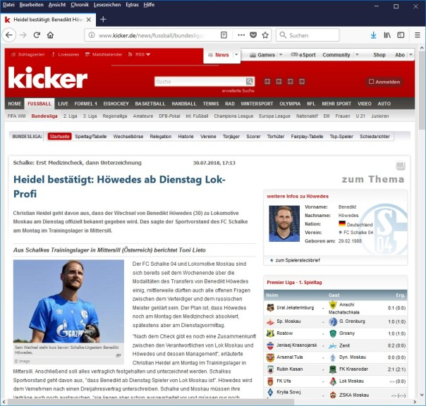 Screenshot 1 - Kicker