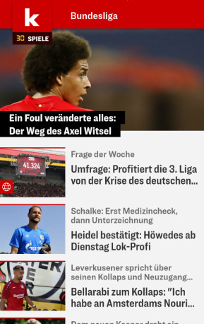 Kicker (App für iPhone & iPad)