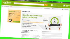 Schn�ppchen-Alarm bei Voelkner©Screenshot www.voelkner.de