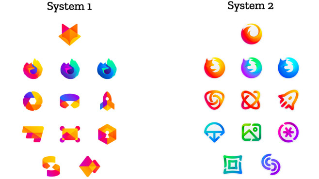 Entwurf: Neue Firefox-Logos©Mozilla