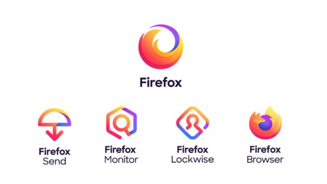 Mozilla: Neue Logos für Firefox & Co. Der neue Look der Marke soll die sich stetig entwickelnde Produktlinie unterstreichen.©Mozilla