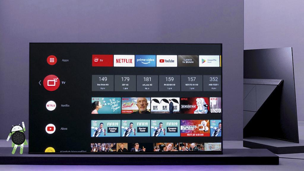 Sony Bravia Af9 Oled Android Fernseher Im Test Audio Video Foto Bild
