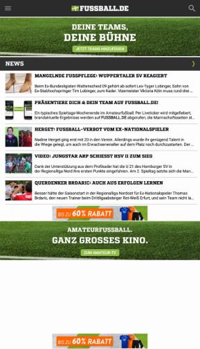 Fussball.de (Android-App)