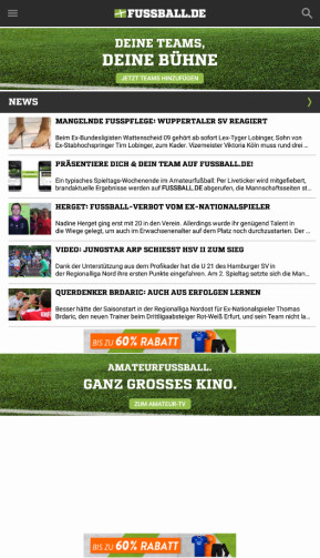 Fussball.de (App für iPhone & iPad)