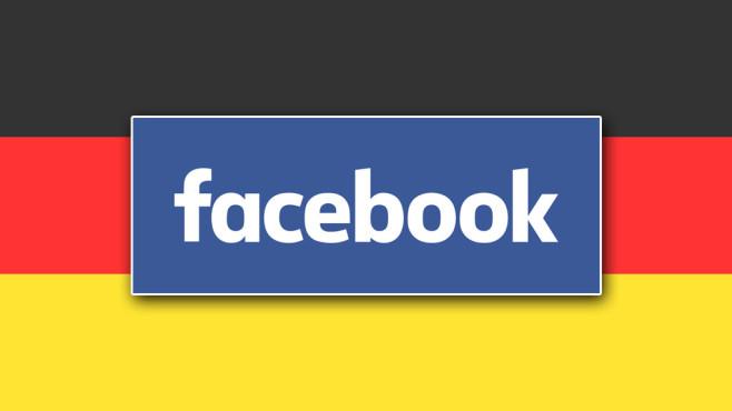 Deutschlandfahne Facebook