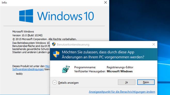 Windows 8.1: Einziges sicheres System mit weicher UAC©COMPUTER BILD