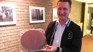 Wafer mit Intel-Whiskey-Lake-Prozessoren © COMPUTER BILD
