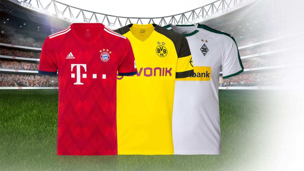 Sky Bundesliga Trikot