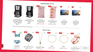 Klingel: Lukrativer Spar-Deal f�r Bestellungen ab 40 Euro©Screenshot Webshop Klingel