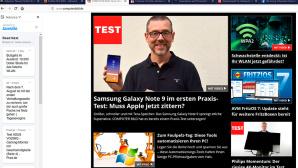 Neue Erweiterung f�r Firefox im Test©COMPUTER BILD