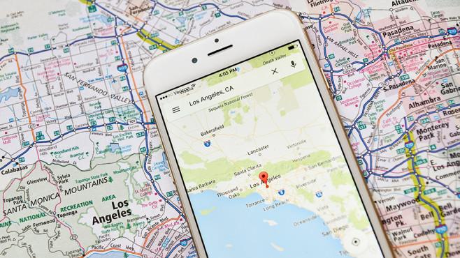 Google-Maps-Tracking: Neue Zahlen schockieren - COMPUTER BILD on
