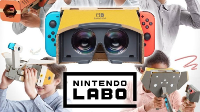 Nintendo Switch: VR-Brille © Nintendo