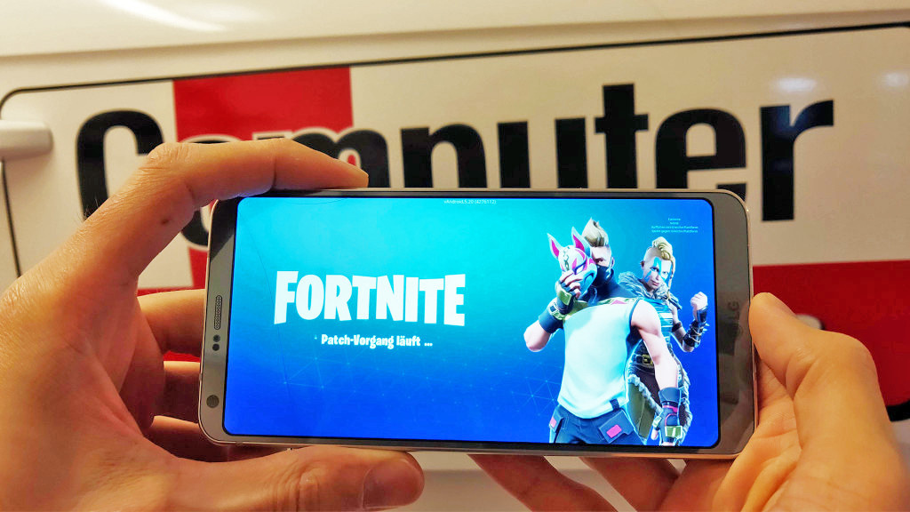 android und iphone die besten handys f r fortnite computer bild spiele. Black Bedroom Furniture Sets. Home Design Ideas