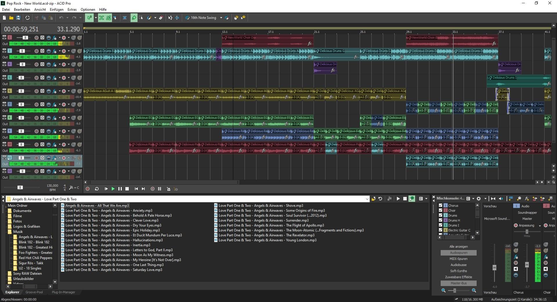 Screenshot 1 - Magix Acid Pro
