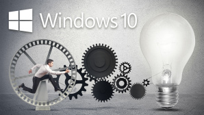 Windows 10 Pro: Tutorial zu Hyper-V, Bitlocker, Gpedit.msc & Co. Was zeichnet Windows 10 Pro aus? Wir verraten, wie Sie das System �hnlich ausreizen, wie kleine Unternehmen es tun.©iStock.com/alphaspirit , Microsoft