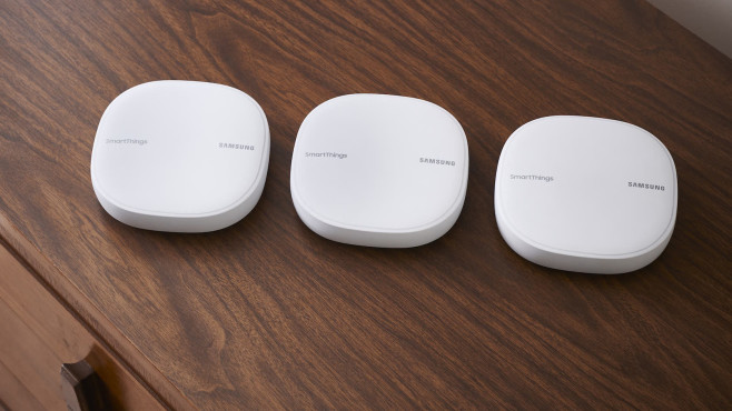 Samsung Smartthings Wifi Mesh System Und Smarthome Zentrale