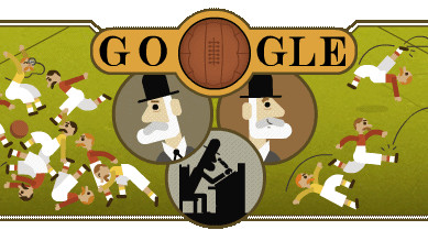 Google Doodle: Ebenezer Cobb Morley©Google