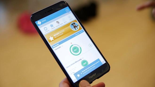 Apps für Körperfettwaagen©COMPUTER BILD, Alena Zielinski