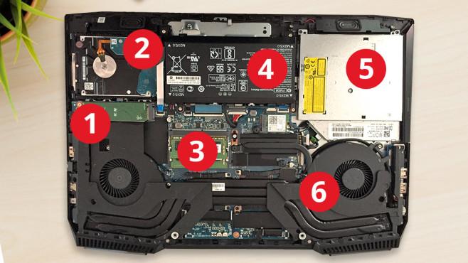 HP Omen 17-an014ng©karandaev – Fotolia.com, COMPUTER BILD