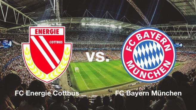 Energie Cottbus gegen Bayern München©Energie Cottbus, FC Bayern München