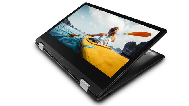 Medion Akoya E3222: Tablet-Modus ©Medion