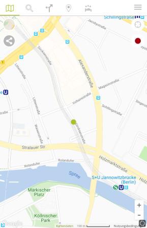 Falk Maps: Routenplaner & Karte (Android-App)