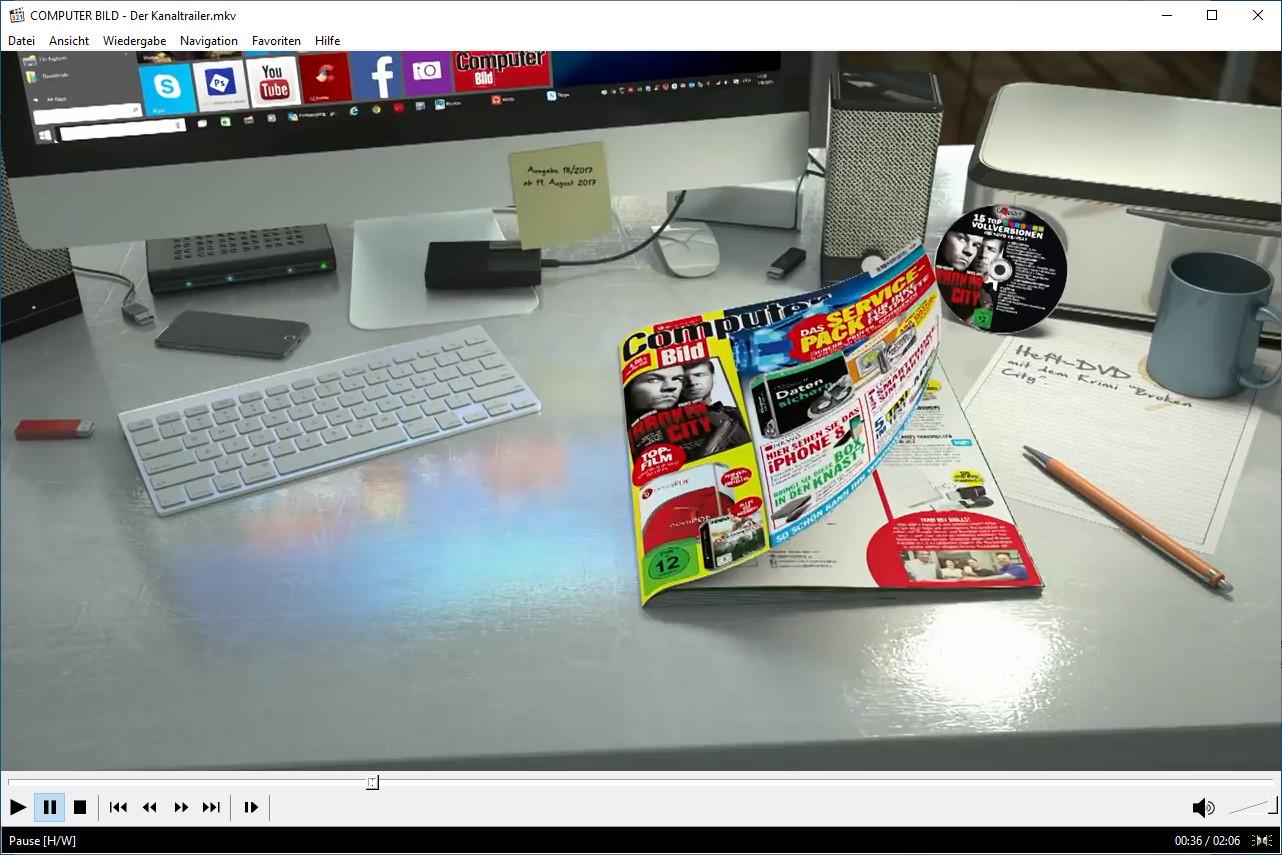 Screenshot 1 - Media Player Classic – Home Cinema (32 Bit)