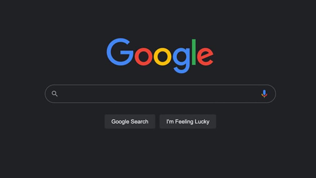Google-Suche Dark Mode