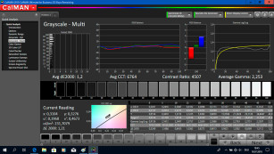 Samsung NU7179 Test Bildeinstellung©COMPUTER BILD