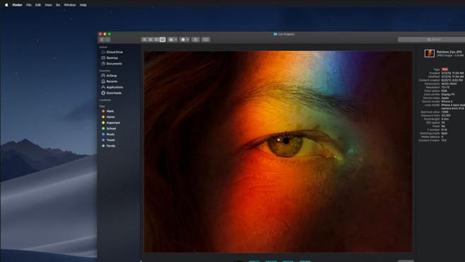 Apple macOS: Dark Mode ©Apple