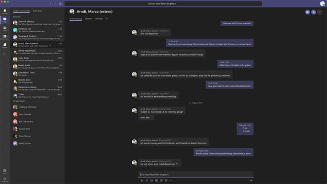 Microsoft Teams: Dark Mode ©COMPUTERBILD