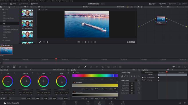 Movie Maker Alternative: Kostenlose Programme für den Videoschnitt©COMPUTER BILD, Blackmagic Design
