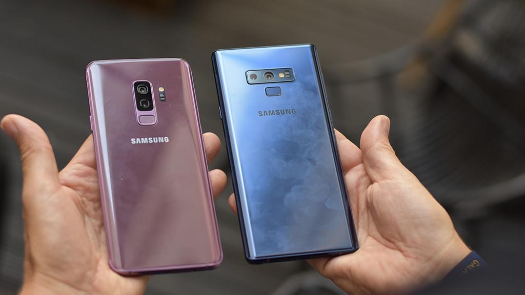 Galaxy Note 9 Gegen S9 Plus Im Vergleich Computer Bild