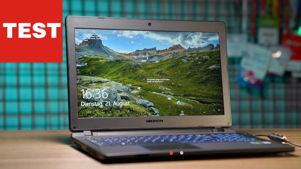 Medion Erazer P6689 Im Test Gaming Notebook Von Aldi Computer Bild