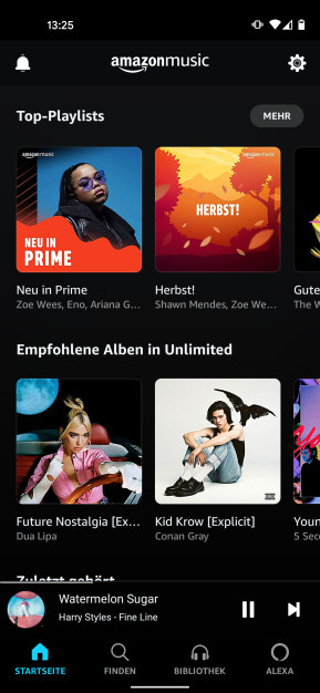 Amazon Music (Android-App)