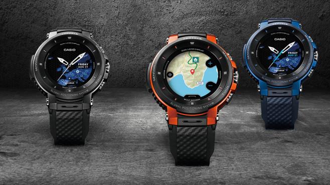 Casio Pro Trek WSD-F30: Farben©iStock.com/schus, Casio