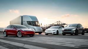Tesla-Flotte©Tesla